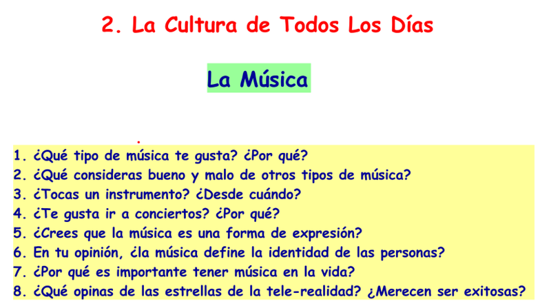 5. Music